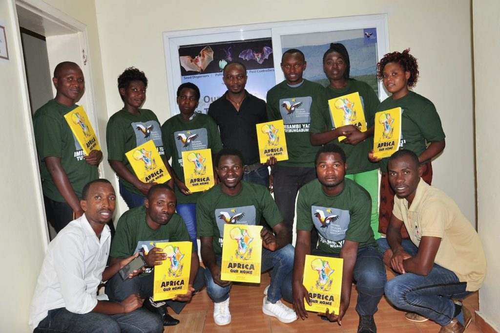 Youth envionmental club mentors training on PACE